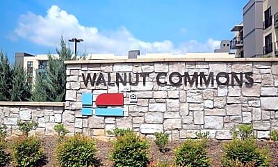 Community Signage, Walnut Commons, 2
