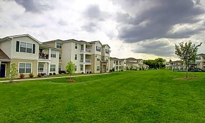 Building, Ridgemont Park Apartments, 1