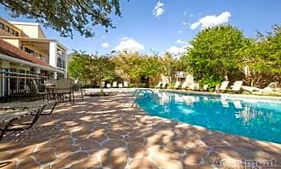 Pool, Balcones Woods, 1