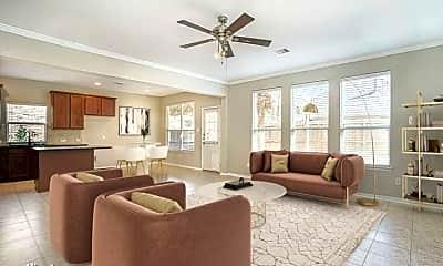 Living Room, 1315 Lucas St, 1