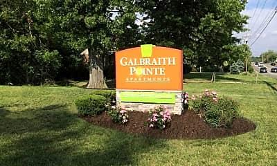 Community Signage, Galbraith Pointe Apartments, 0