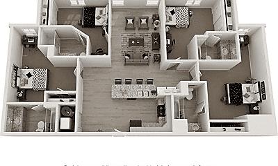 Living Room, 144 Poplar Grove Rd, 2