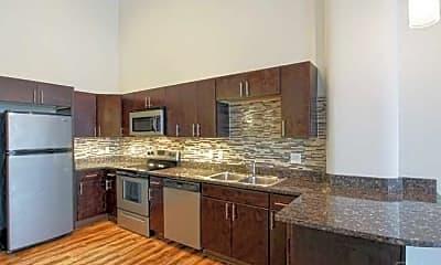 Kitchen, Morrow Park City Apartments, 1