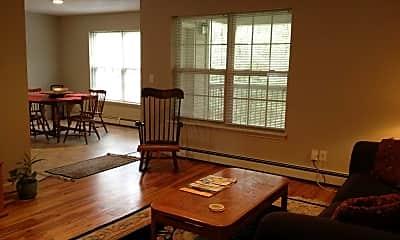 Living Room, Thompson Park Apartments, 1