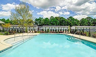 Pool, Ashbrook Village, 1