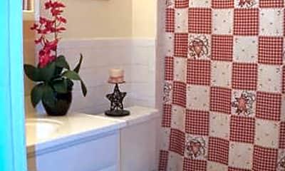Bathroom, Hamilton Village Apartments, 2