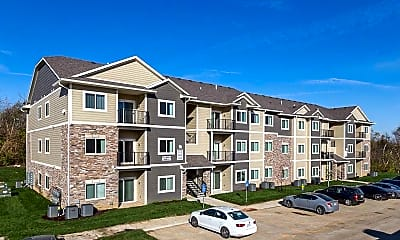 Building, Carman Estates Apartments, 0