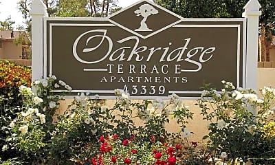 Community Signage, Oak Ridge Terrace, 2