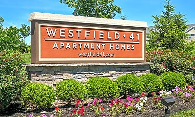 Community Signage, Westfield 41 Apartment Homes and Townhomes, 1