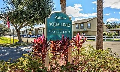 Community Signage, Aqua Links, 2