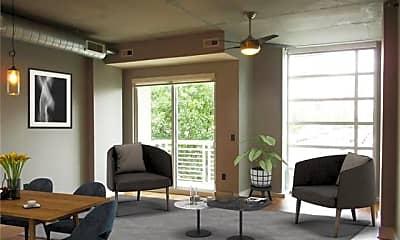 Living Room, 505 E 6th St 302, 1