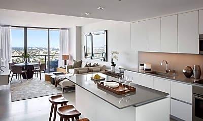 Kitchen, 88 SW 7th St 2508, 1