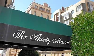 Community Signage, 630 Mason St, 0