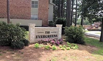 Community Signage, The Evergreens, 1