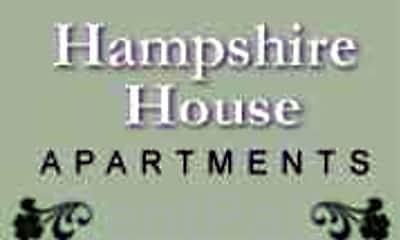 Community Signage, Hampshire House, 2