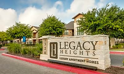 Community Signage, Legacy Heights, 2