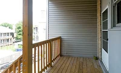 Patio / Deck, 5940 N Broadway, 2
