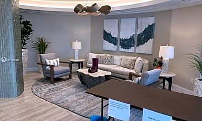 Living Room, 250 S Ocean Blvd 18F, 1