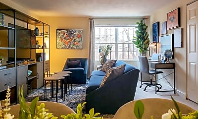 Living Room, Beverly Commons, 0