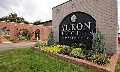 Community Signage, Yukon Heights, 2