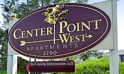 Community Signage, Center Point West, 1