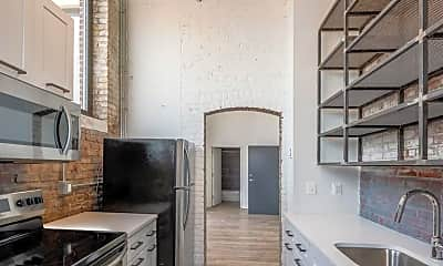 Kitchen, Brush Factory Lofts, 0