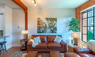 Living Room, 500 W Harbor Dr 1705, 0
