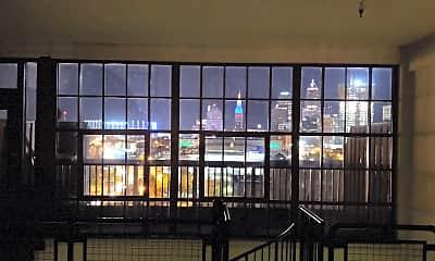 Living Room, Walker Weeks Apartments, 2