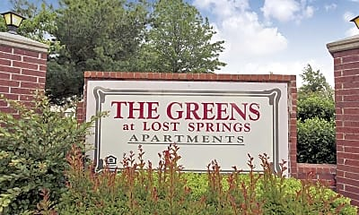 Community Signage, The Greens At Lost Springs, 2