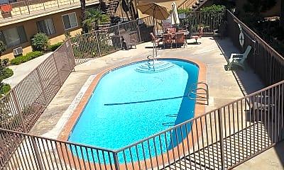 Pool, Park East Apartments, 0