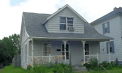 Building, 523 W Calvert St, 1