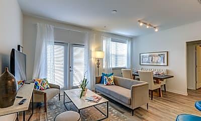 Living Room, Lola Apartments, 1