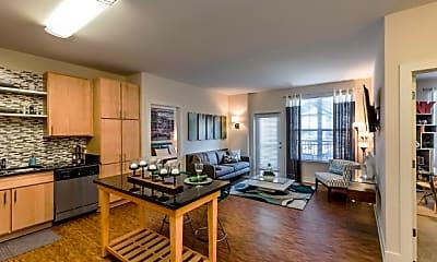 Kitchen, Pinnacle Apartments, 1