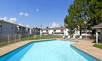 Pool, Southpoint Apartments, 0