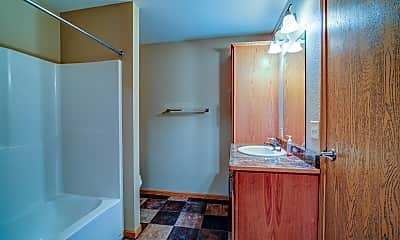 Bathroom, Corner View Apartments, 2