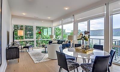 Living Room, 1177@Greystone Luxury Apartments, 1