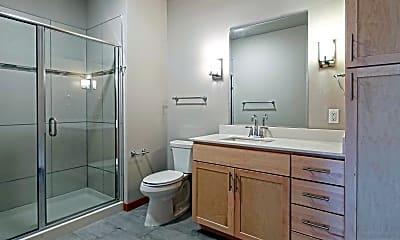 Bathroom, Middleton Station Apartments, 2