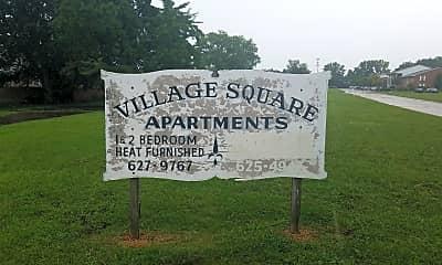 Village Square Apartments, 1