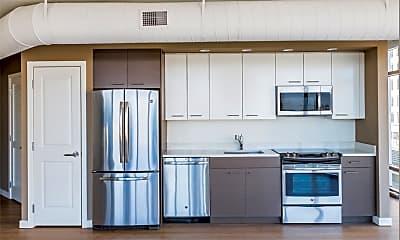 Kitchen, The View Ballston, 1
