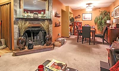 Living Room, Long Acres Apartments, 2