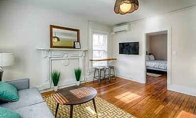 Living Room, 829 Belmont Ave, 1