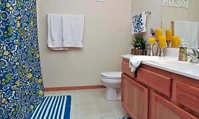 Bathroom, Aurora Pointe Apartments, 2