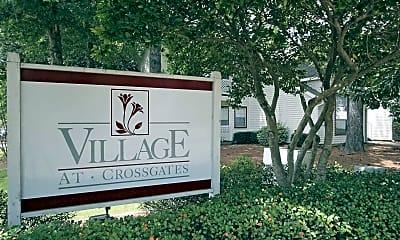 Community Signage, Village at Crossgates, 2