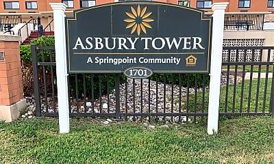 Asbury Tower, 1