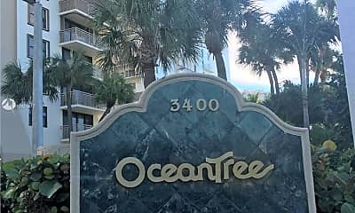 Community Signage, 3400 N Ocean Dr 2008, 0