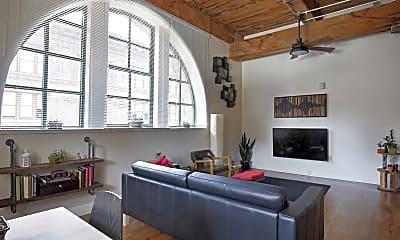 Living Room, Lucas Place Lofts, 0