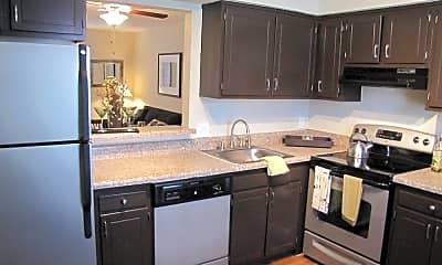 Kitchen, Midtown Park Townhomes, 0