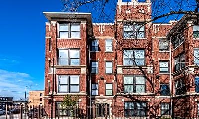 Building, 5854 S Michigan, 1