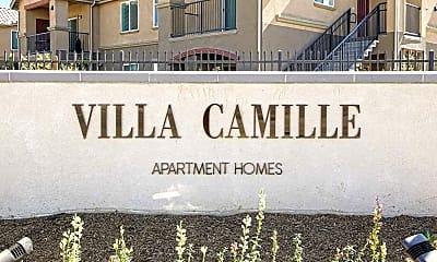 Community Signage, Villa Camille, 2