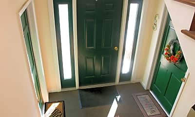 Foyer, Entryway, Village Court Apartments, 1